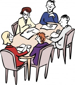 Menschen-Arbeitsgruppe